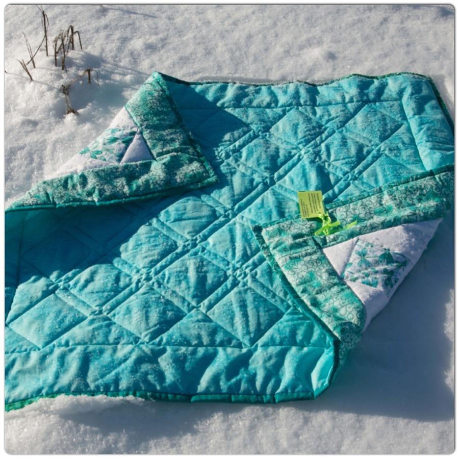 Как сшить стеганое одеяло  мастер класс 197